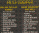 "Alice Cooper  ""Billion dollar babies & Raise your fist and yell"" - CD"