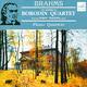 """БРАМС И. / BRAHMS I. - """"Три фортепианных квартета"""" / Квартет им. Бородина, Л. Едлина 2 CD"""
