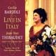 """CECILIA BARTOLI - """"Live in Italy"""" CD"""