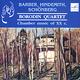 "КВАРТЕТ им. БОРОДИНА - ""Хиндемит, Барбер, Шенберг. Chamber Music Of XX c."" CD"